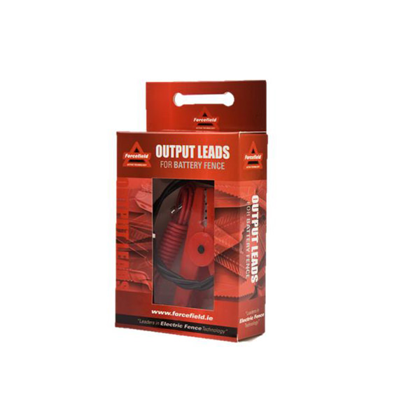 Output Leads For Battery Fences