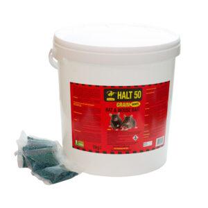 Rat Bait - Grain in Sachets 25kg