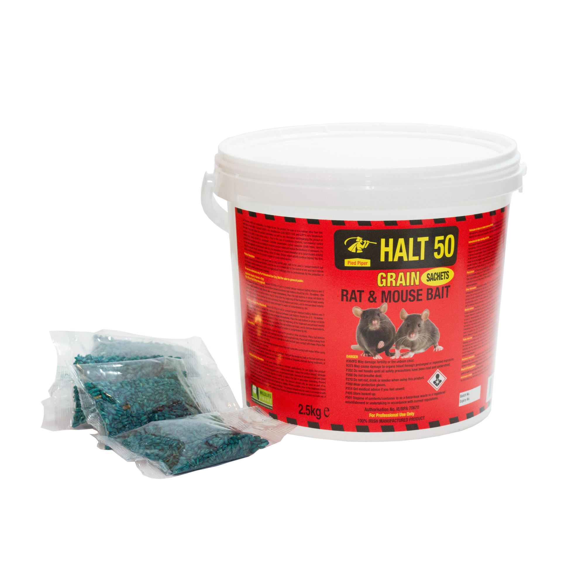 Rat Bait - Grain in Sachets 150g (3 x 50g)
