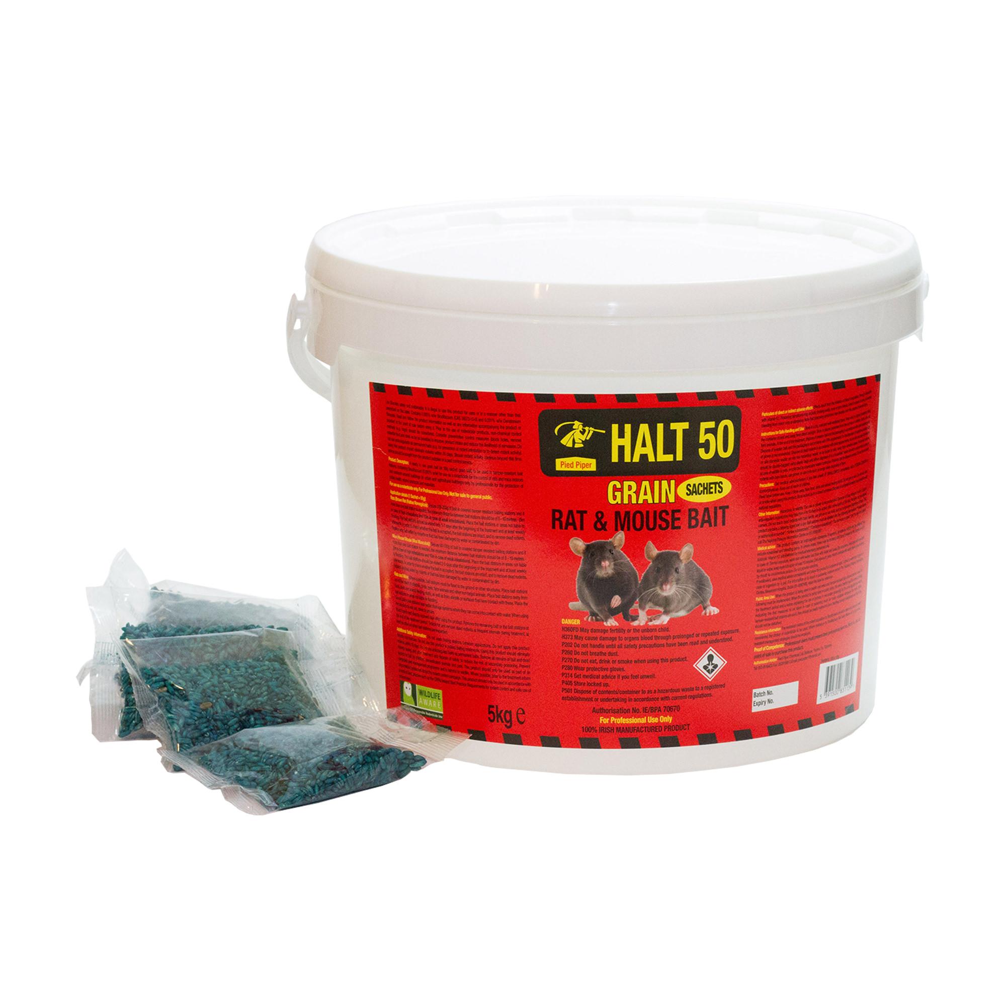 Rat Bait - Grain in Sachets 5kg