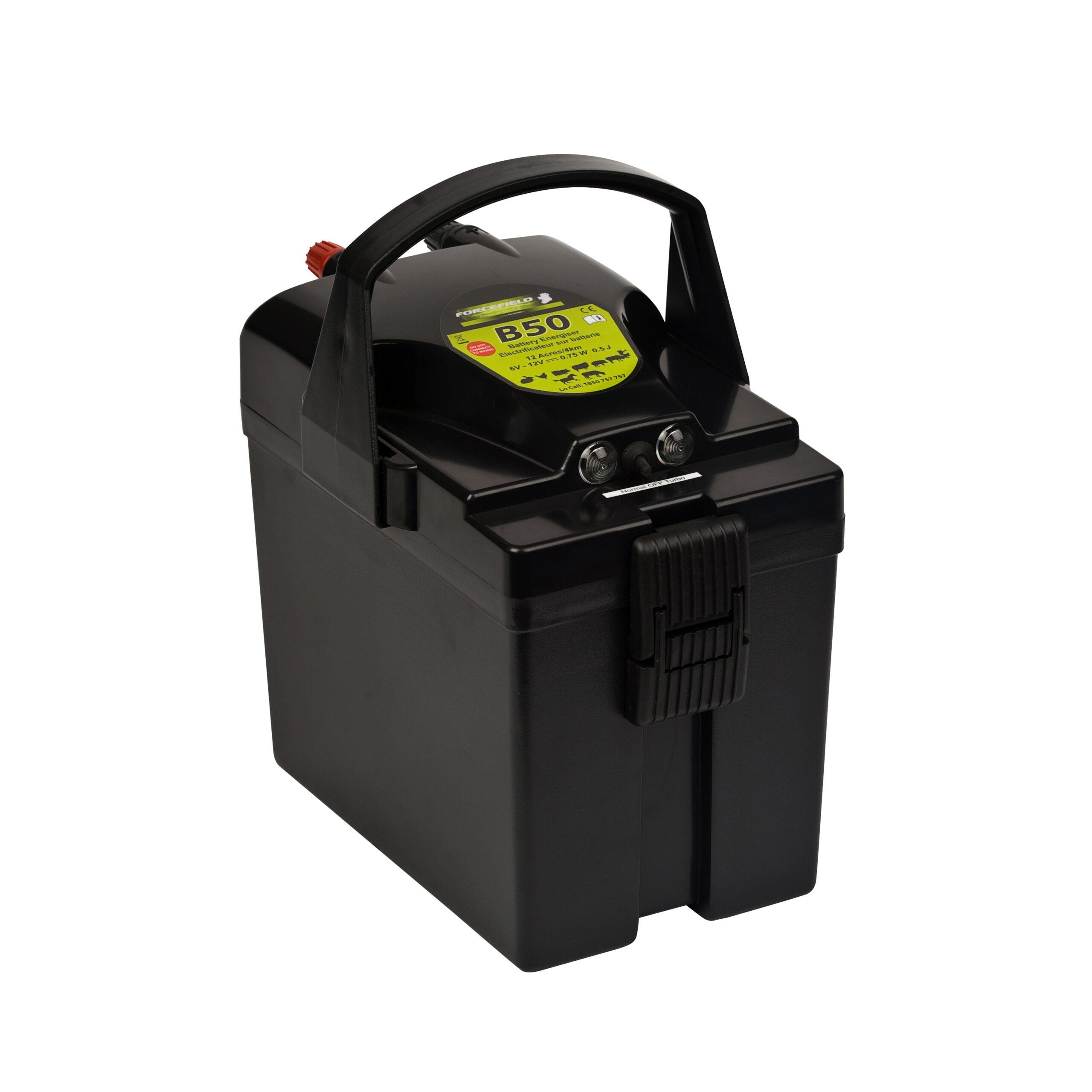 B50 Battery Energiser Promo with Battery