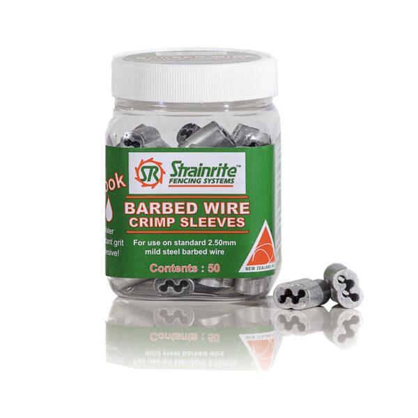 Barbed Wire Crimp (Pottle of 50)